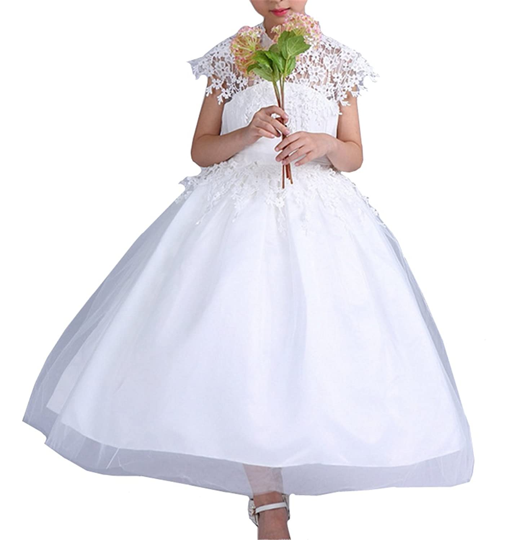 YOJAP 子供ドレス  パーティー  ピアノ  女の子 フォーマルドレス  結婚式 入園式 発表会 演奏会 ワンピース キッズドレス プリンセスドレス フォーマル(110CM-130CM)