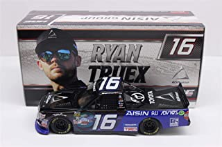 Lionel Racing T161724D9RT Ryan Truex #16 Aisin Group 2017 Toyota Tundra 1:24 Scale Diecast Truck, Multicolor