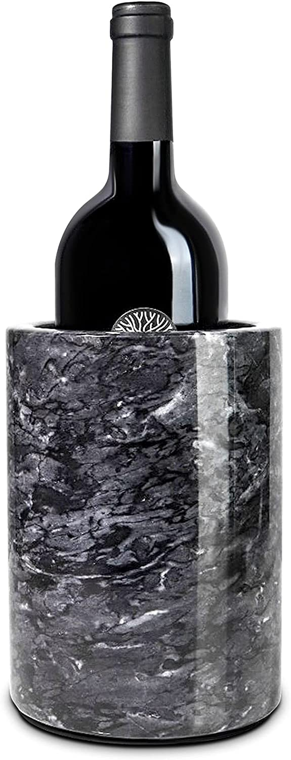 Homeries Marble Wine Chiller Bucket Cooler Max 54% OFF Champagne Don't miss the campaign - fo