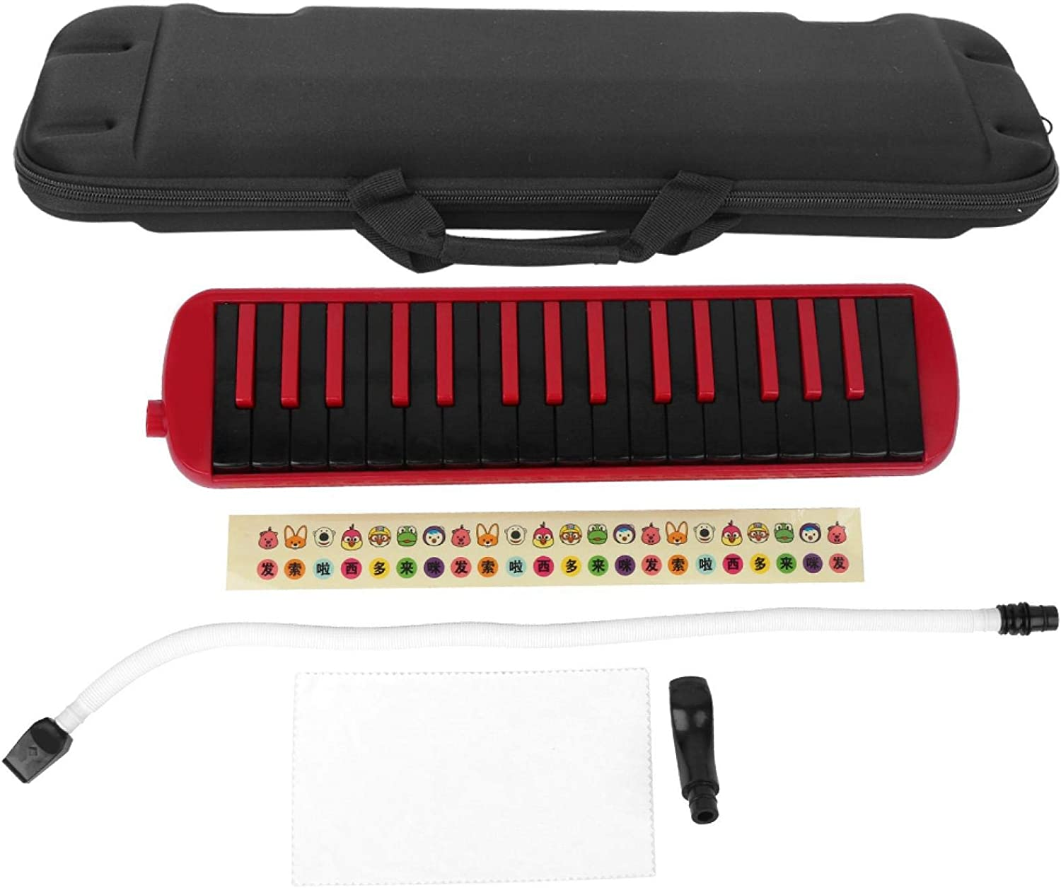 F-32s 32 Key Miami Mall Melodica with Mouthpieces Bag Styl Milwaukee Mall Set Piano Tube