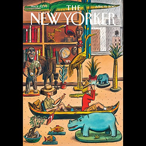 The New Yorker, April 19th, 2010 (Peter Hessler, Elif Batuman, Lauren Collins) cover art
