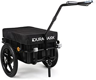 comprar comparacion Duramaxx Big Mike - Remolque para bicicletas 70 L (cesta extraible, estructura metalica, 40kg max., lona impermeable, apto...