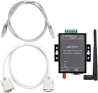 Servidor serie Ethernet seguro multifunción de uso amplio, servidor de puerto serie estable, para AES-128Bit SSL TLS v1.2 ...