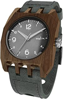 Wooden Watch Handmade MISTURA Natural Volkano