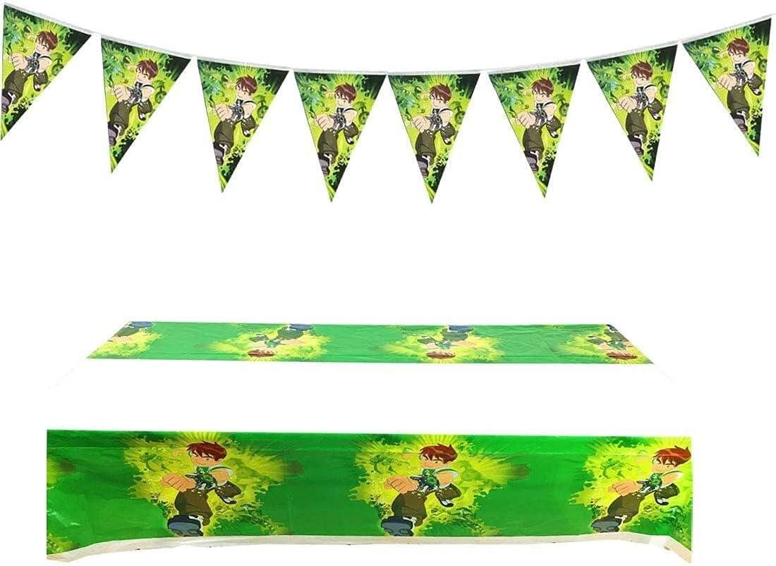 1pcs Ben ablecloth 5 Super-cheap ☆ popular Party Disposable Tablecloth Tablecove Plastic