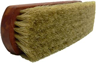 Valentino Garemi Premium Leather Shoe Shine Brush- Brilliant Outcome Polisher- Genuine Horse Hair- Made in Germany