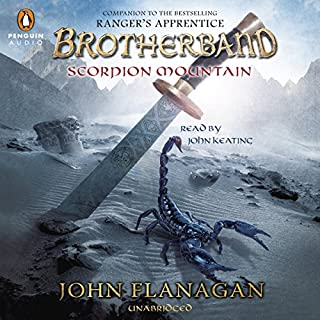 Scorpion Mountain audiobook cover art