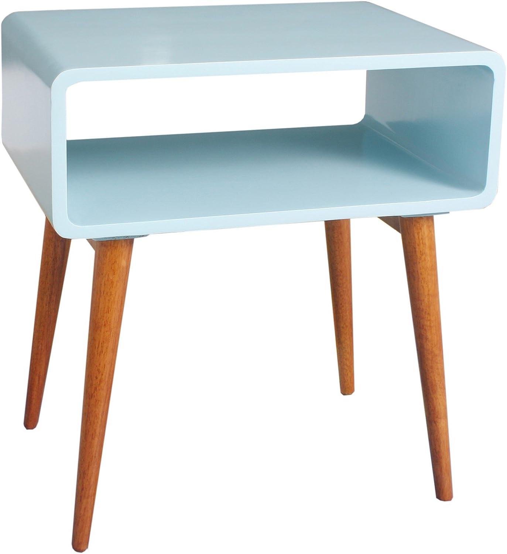 Porthos Home CO002B AQU Nora Side Table Aqua