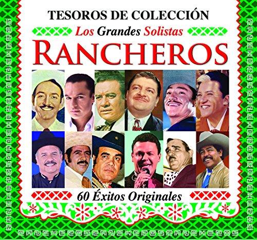 Los Grandes Solistas Rancheros (3CDs Tesoros de Coleccion 60 Exitos Originales Sony-7587503)