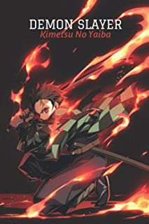 Demon Slayer 2 Composition Notebook: manga anime Demon Slayer Kimetsu no Yaiba, vol. 2 lined paper demon slayer vol 1 2 3 ...