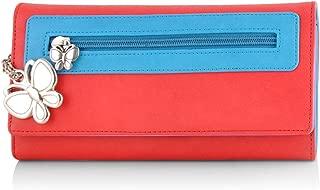 Butterflies Women's Wallet (Red) (BNS 2374RD)