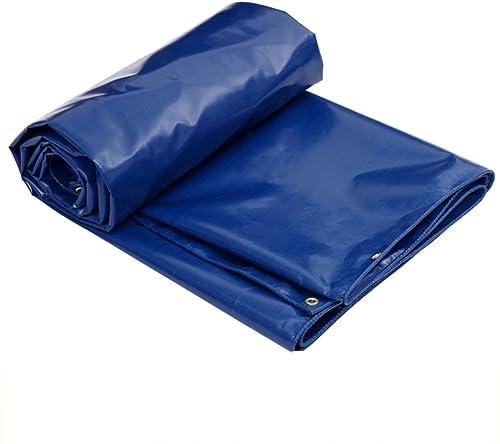 COZY HOME AAA Tissu Imperméable épais Anti-corrosif Pare-Soleil Pare-Soleil extérieur Toile de bche de Voiture de Patio Tente de Tissu de Tente de Voyage  2m × 3m 520g m2