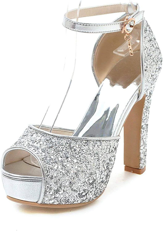 2019 Big Size 31-43 Wedding Bride Bridesmaid Women's shoes High Summer Sandals