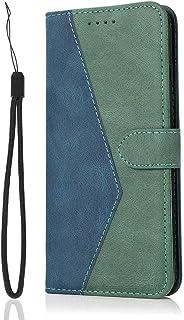 TUUNKMUY Fodral till Samsung Galaxy A20S, stöttåligt plånboksfodral Samsung Galaxy A20S bok PU-läder med kortspår vikbart ...