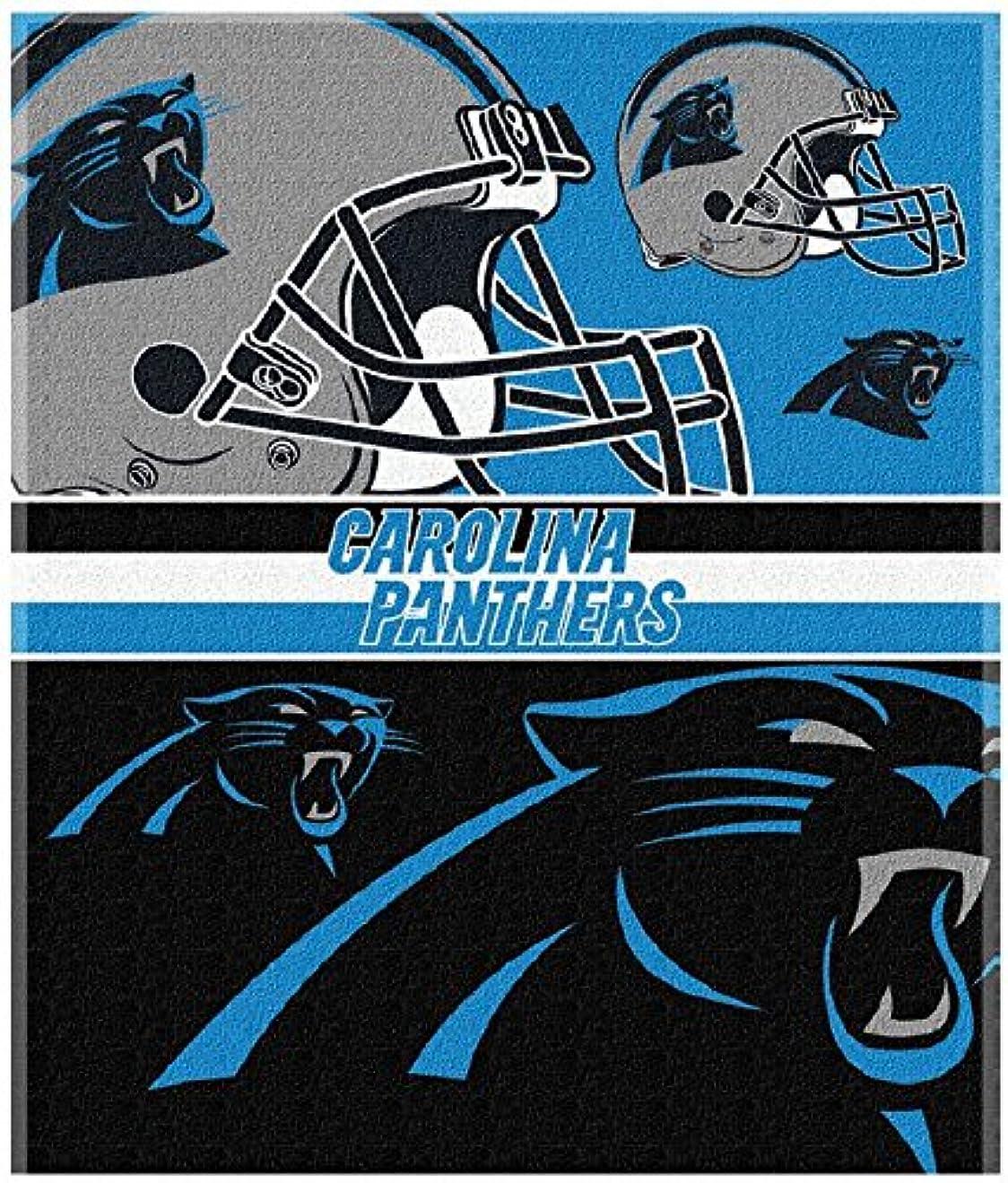 曲線子供っぽい是正するThe Northwest会社NFL Licensed Carolina Panthers 54?x 68オーバーサイズビーチブランケットタオル