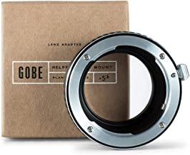 Gobe Lens Mount Adapter: Compatible with Pentax K Lens and Fujifilm X Camera Body