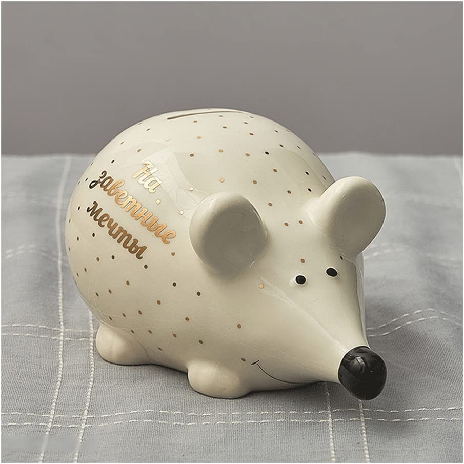 ZSM Ranking TOP16 Money Bank Seattle Mall Cute Mouse Coin Ceramic Piggy wit