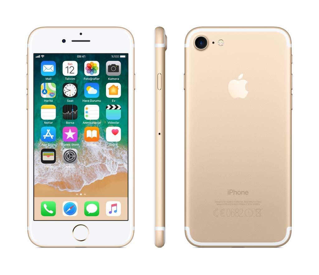 Apple iPhone 7, 32 GB, Altın, Kulaklık ve Adaptör Dahil (Apple Türkiye  Garantili) : Amazon.com.tr: Elektronik