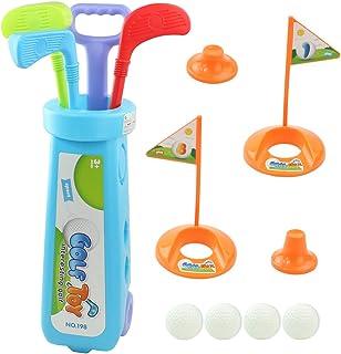 TONZE - Juego de Golf para niños, Juego de Pelota al Aire