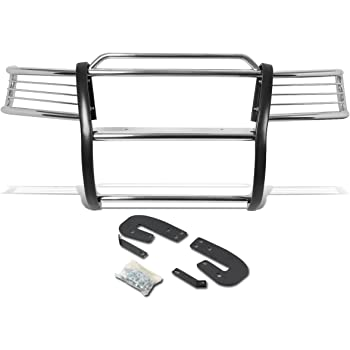 For 96-04 Nissan Pathfinder DNA Motoring GRILL-G-050-SS Front Bumper Brush Grille Guard