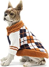HAPEE Pet Clothes The Diamond Plaid Cat Dog Sweater,Dog Accessories,Dog Apparel,Pet Sweatshirt