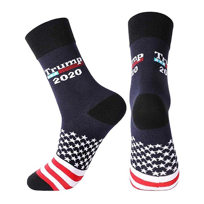 2020 Socks American Unisex Crew Socks America President Novelty Socks