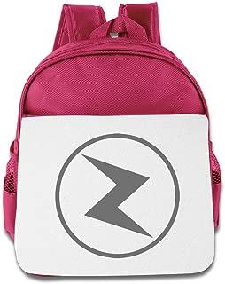 Hello-Robott Lightning Logo School Bag Backpack RoyalBlue