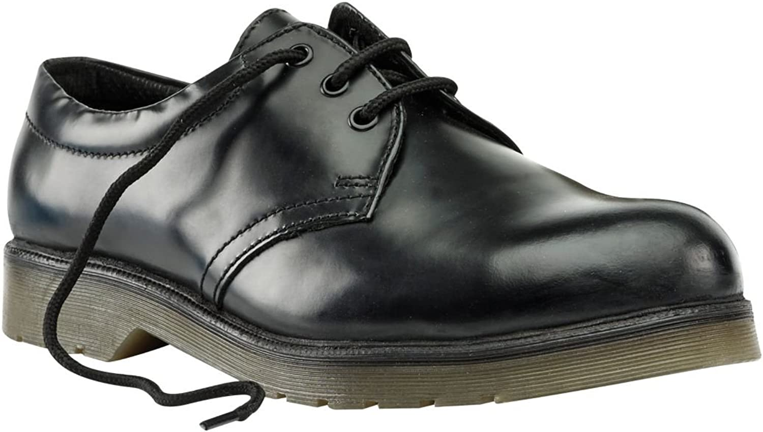 Sterling Steel Cushion Sole Safety shoes Black Size 10