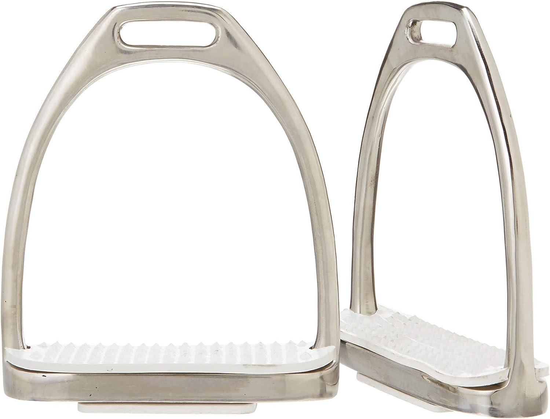 Derby Originals Stainless Steel English Saddle Stirrup Irons