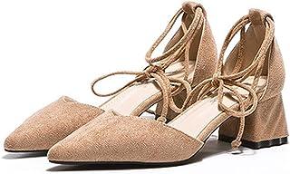 [OceanMap] ローヒール パンプス 痛くない 脱げない 黒 ブラック 靴 レディース ストラップ パンプス 太ヒール ヒール 5cm 5センチ 大きいサイズ 走れる ヒール 甲浅 低反発 歩きやすい 通勤 立ち仕事 結婚式