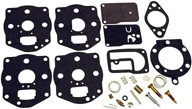 Karts and Parts Briggs & Stratton Carburetor Carb Rebuild Kit Fits Models 42B707 42C777 42D707 42D777 42E707 42E777 460707