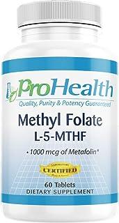 ProHealth Methyl Folate L-5-MTHF - (1000 mcg, 60 Tablets)