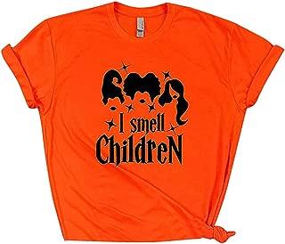 Women Sanderson Sister Graphic Print Short Sleeve Hocus Pocus Halloween Tshirt Tee Tops