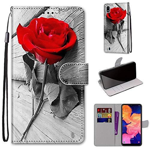 DICASI Custodia per Samsung Galaxy A10 / Galaxy M10, Magnetica Portafoglio,Flip Caso in TPU Pelle Premium Portafoglio per Samsung Galaxy A10 / M10 Cover