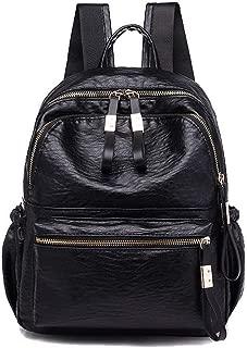 Women's Pu Zippers Casual Tote Bags Shoulder Bags,AMGBW216573,Black