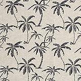Fabulous Fabrics Dekostoff Canvas Palmen –