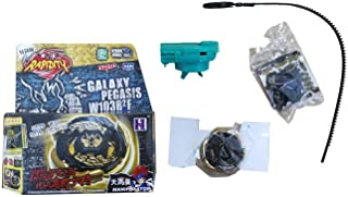 jenny_Liu Bey Metal Fusion Gold Galaxy Pegasus/Pegasis Black Hole Sun Masters 4D BB-43 High Performance Game with Green Launcher