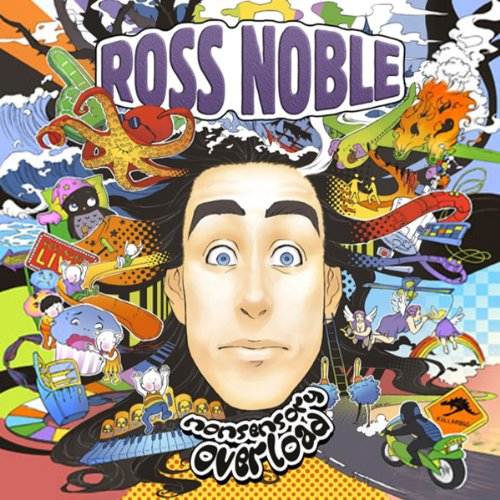 Ross Noble audiobook cover art