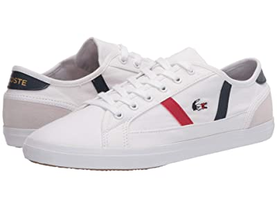 Lacoste Sideline Tri 2 (White/Navy/Red) Women