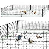 IDMarket - Kit clôture Filet à Poules 24 M...