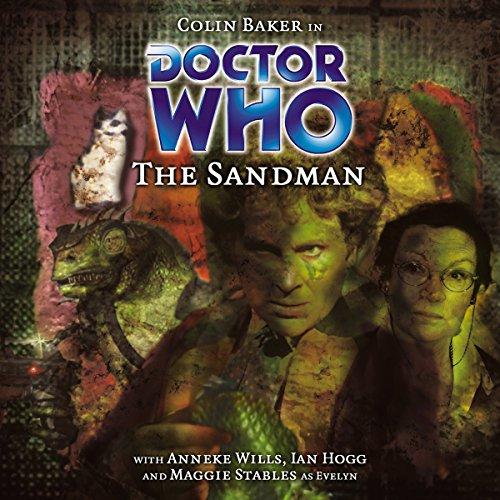 Doctor Who - The Sandman audiobook cover art