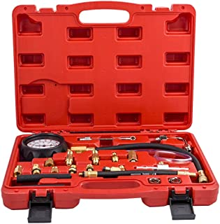 Manômetro de bomba de injeção de combustível, kit de teste de sistema de calibre automático de carro adaptador M10 / M12 /...