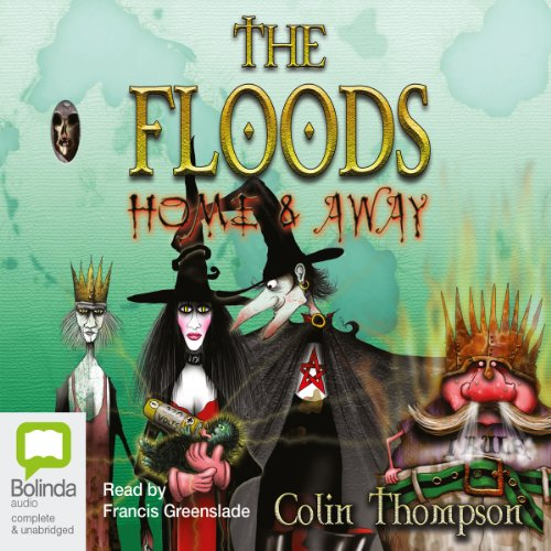 The Floods #3 cover art