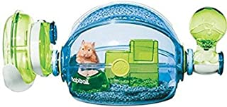 Habitrail Ovo Home, Blue Hamster Cage, Small Animal Habitat, Hamster Accessories