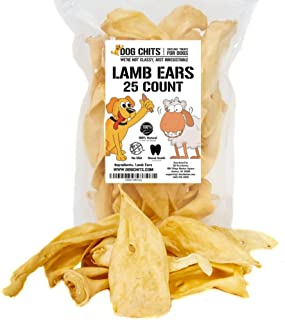 Dog Chits Lamb Ears for Dogs - Dog and Puppy Chews | NO...