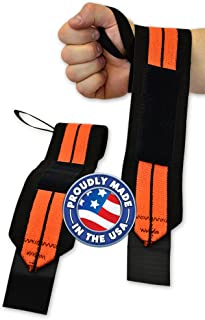 LiftingLarge Max RPM Powerlifting Wrist Wraps - Titan Support Systems