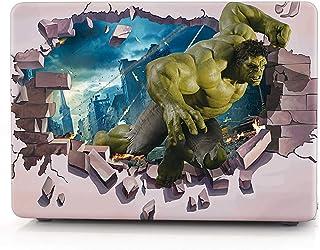 "Xact Removable 3m Vinyl Skin Sticker For Apple Macbook Pro 15"" (3D Hulk)"