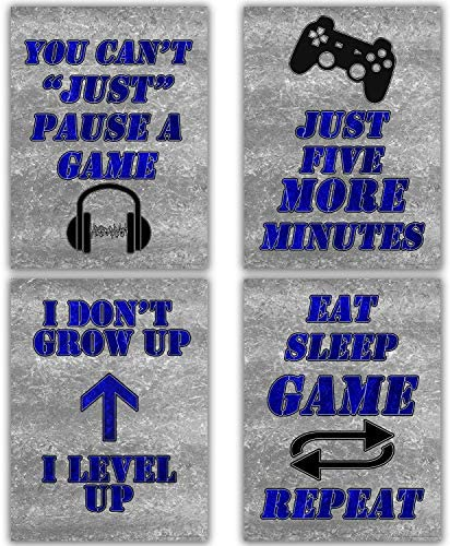 Canvas Gaming Art 12x16 Gamer Posters Wall Decor Video Game Poster for Teen Boys Bedroom Decorations product image