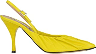 ACNE STUDIOS Luxury Fashion Womens MCGLCAT0000D7135E Yellow Heels | Season Outlet