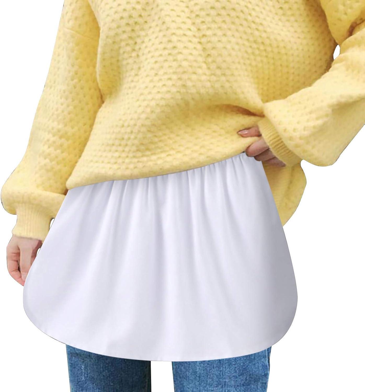 Skirts for Women,Fake Plaid Pleated White Black Skirt,Women's and Teen Girls Mini Long Skater Tennis Sweep Skirt